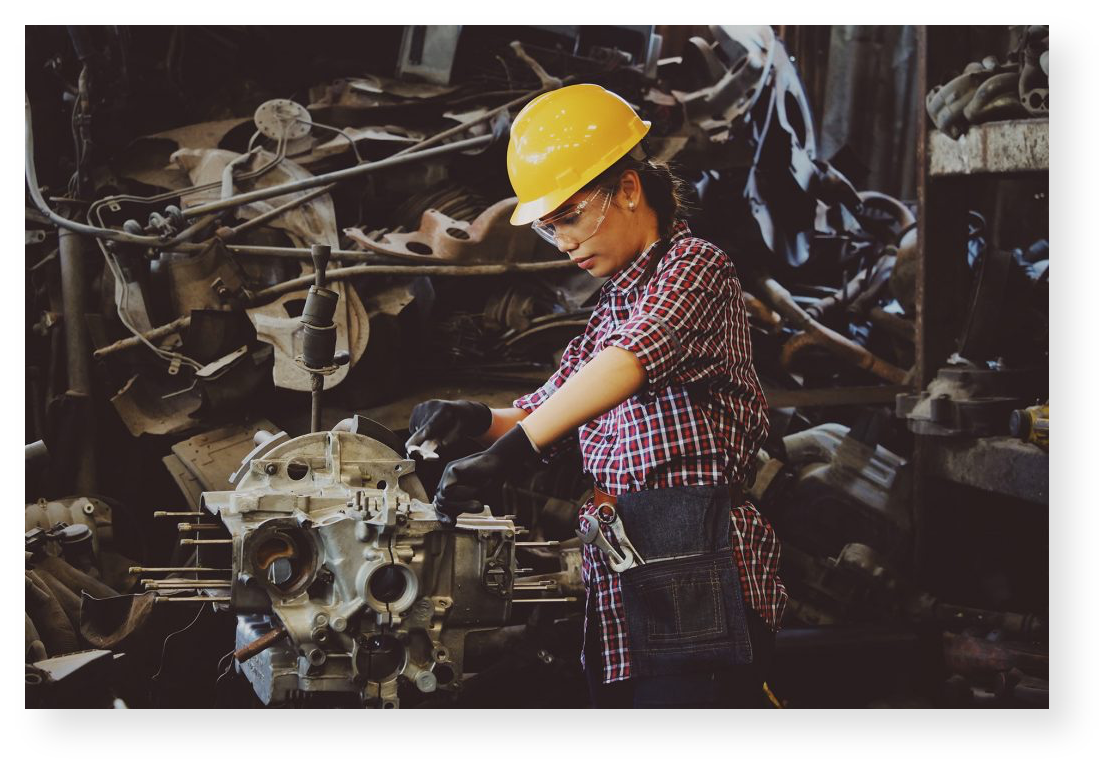 Eliminate vehicle down time and close check on maintenance expenses.